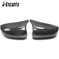 LHD F90 DRY Carbon fiber side view Mirror Caps DRY carbon sticker for BMW M5 F90 OEM Fitment Side Mirror Cover 2018