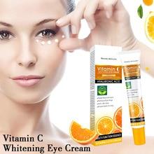 Vitamin C Fading Dark Circles Fine Lines Moisturizing And Hydrating Eye Care 25g Whitening Eye Cream недорого