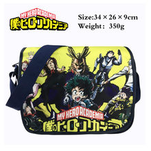 Anime Boku no My Hero Academia 코스프레 가방 미도리 야 이즈 쿠 Schoolbag My Hero Academia 배낭 All Might Crossbody Bag(China)