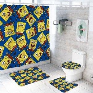 SpongeBob Cartoon Bathroom Set