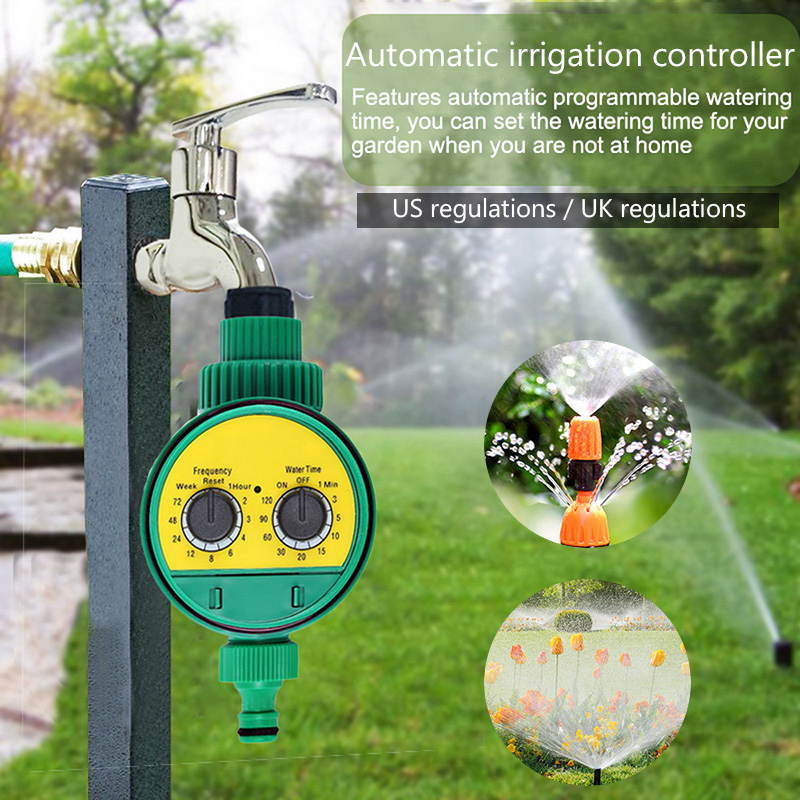 Irrigation-Controller Timer Garden-Watering-Timer Automatic Waterproof Hose-Faucet Outdoor