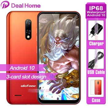 Ulefone Note 8P 2GB RAM 16GB ROM Smartphone Android 10.0 5.5-inch 4G Celular Phone Waterdrop Screen Quad Core 8MP Camera phone