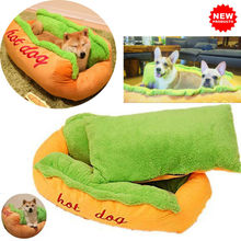 Hot Dog Bed Small Large Dog Lounger Bed Kennel Mat Soft Fiber Pet Dog Puppy Warm Soft Bed Washable House Product For Dog And Cat