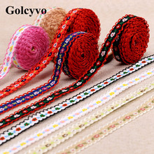 2Meter Colorful Cotton Crochet Embroidery Lace Trims Edge Colthing DIY Sewing Crafts 1cm Width