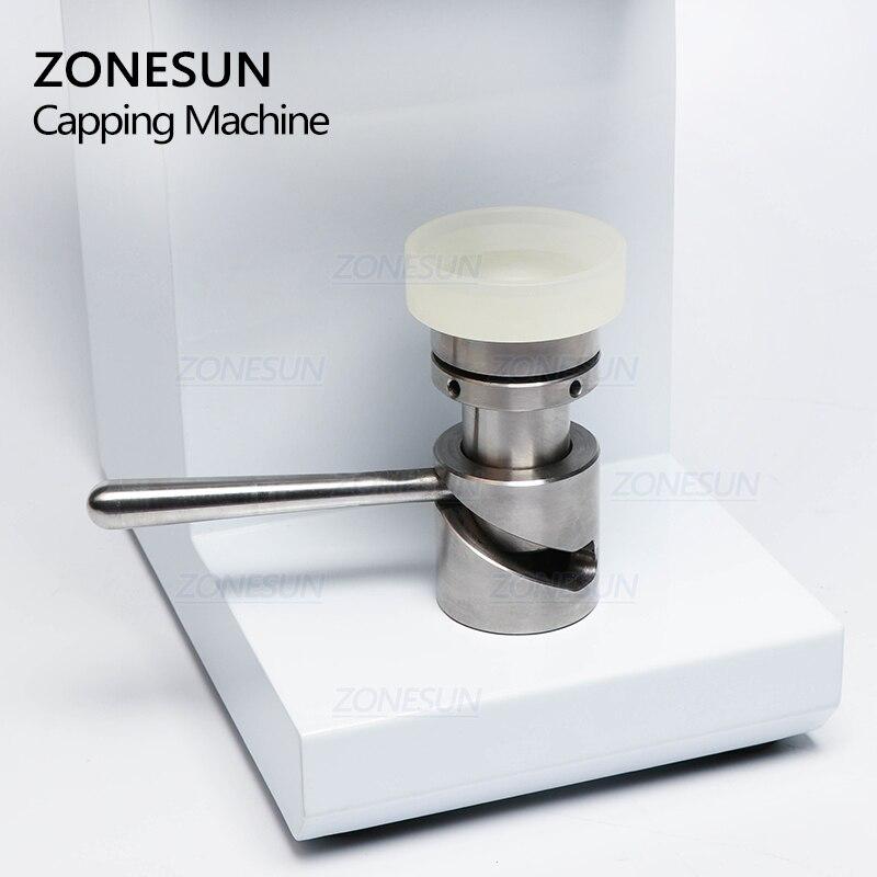 ZONESUN ZS-FK-168 Seamingl aluminium cyny piwa pierścień-pull puszki automatyczna plastikowa zakrętka do butelki indukcja może maszyna uszczelniająca