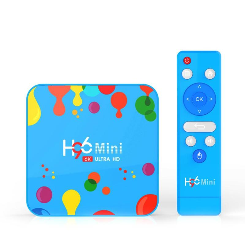 H96 Mini H6 Android 9.0 Set Top Box 4GB+32/128GB Quad Core 2.4G/5G WIFI Media Player Support Music Format MP3/WMA/AAC/WAV/OGG|Set-top Boxes| |  - title=