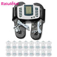 10 Level Electrical EMS Relieve Pain Muscle Stimulator Pulse Tens Acupuncture Therapy Machine Body Relax Muscle Therapy Massager