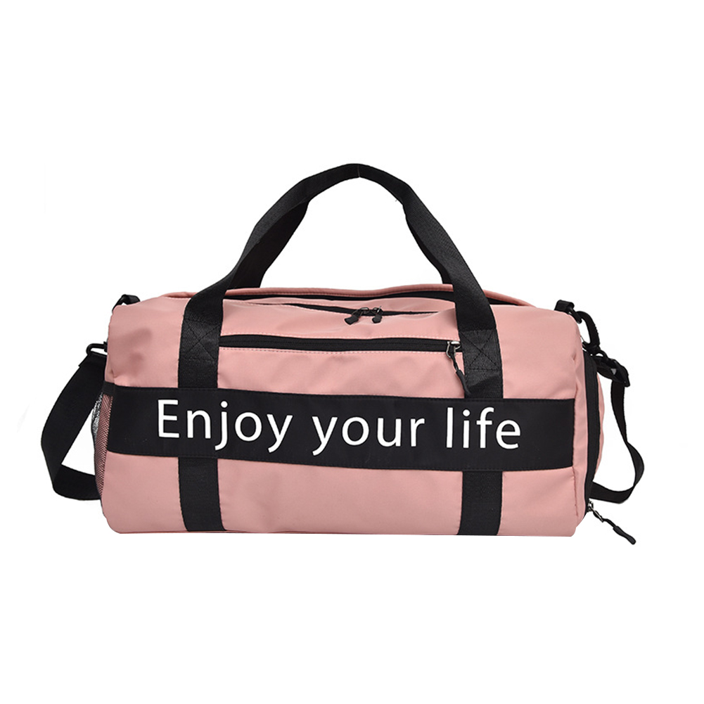 Men Women Adjustable Strap Gym Bag Portable Travel Shoulder Independent Shoe Case Waterproof Yoga Multi-functional Detachable