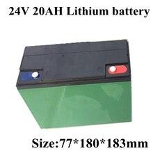 بطارية ليثيوم أيون للدراجة الكهربائية ، 24 فولت ، 20 أمبير ، لمحرك 200 واط ، 250 واط ، 300 واط ، للسكوتر الإلكتروني ، الدراجة الكهربائية ، الجولف ، مع شاحن