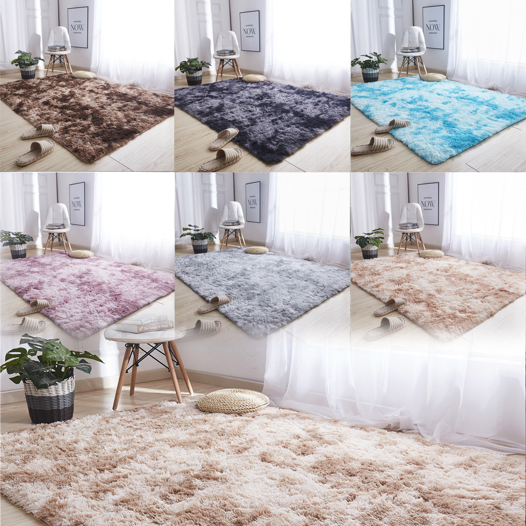 Solid Color Carpet Mat Ultra Modern Soft Area Rugs Shaggy Nursery Rug Home Room Plush Carpet Small Carpet Home Decor ковер^25