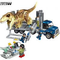Kompatibel legoinglys Jurassic Welt Dinosaurier Indoraptor Rampage Zu Lockwood Immobilien Baustein Spielzeug für Kinder 75930 10928