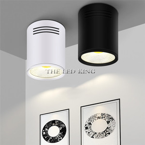 Image 5 - סופר בהיר בהירות גבוהה LED COB תקרת ספוט מנורת 9W 12W 15W משטח הר Downlight מקורה תאורת מטבח חדר שינה