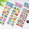 3d-наклейки в виде пышных пузырей, автомобиль с функцией города, мультяшная принцесса, кошка, водостойкая, «сделай сам», детские игрушки для д...