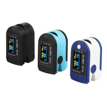 Finger Pulse Oximeter Pulse Oxymeter Digital Portable Fingertip Blood Oxygen Saturation Meter Oximetro Finger SPO2 PR Monitor image