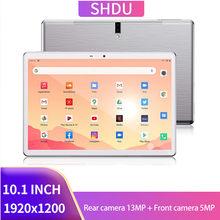 2021 novo tablet pc 10.1 polegada android 10.0 comprimidos 64gb rom octa núcleo google play 3g 4g lte chamada de telefone gps wifi bluetooth 10 polegada