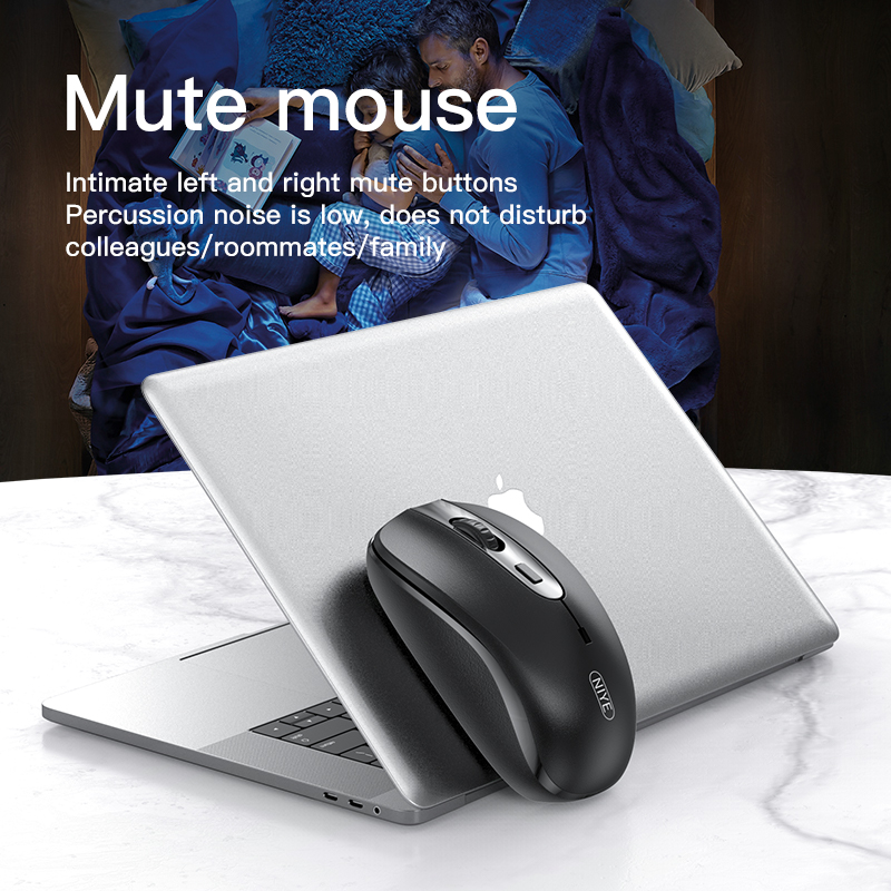 Wireless Mouse 2.4Ghz Ergonomic Computer Mouses USB 1600DPI Adjustable Silient Mice For PC Laptop Not Rechargeable Mouse