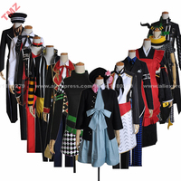 AMNESIA Tasogare Otome KENT SAWA WAKA IKKI TOMA Group of Characters Anime Uniform Cosplay Costume,Customized Accepted