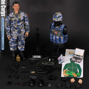 1/6 Scale KADHOBBY Peace mission PLA Navy Marine Corps Military Army soldier Model toy 12' Full Set Action Figure Toy image
