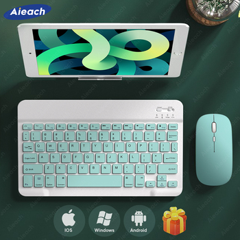 AIEACH Wireless Bluetooth Tablet Keyboard For Phone iPad Pro Samsung Xiaomi Lenovo iOS Android Windows Tablet For iPad Keyboard 1