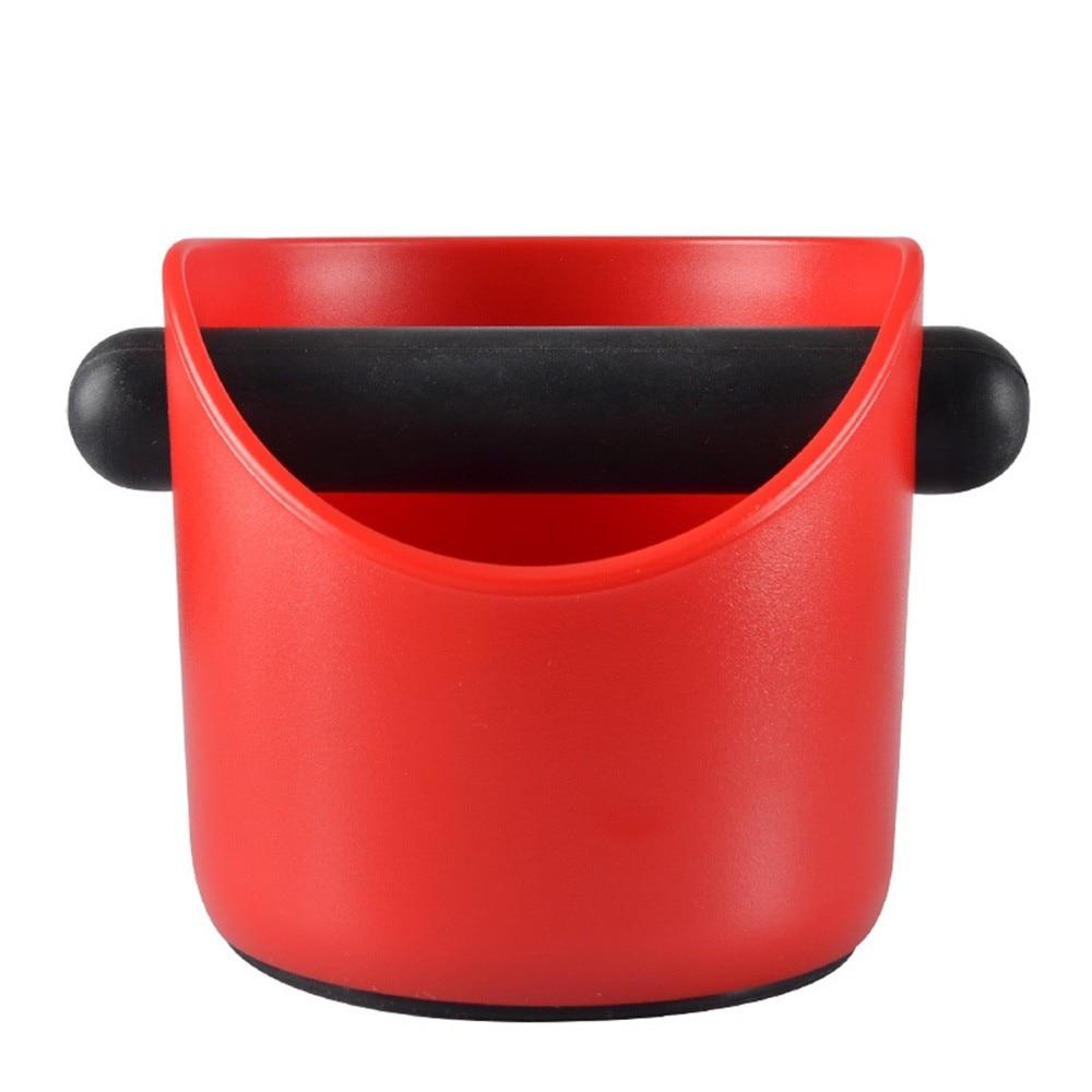 ABS Coffee Knock Box Espresso Coffee Coffee Powder Slag Box Powder Slag Bucket&Non-Slip Base High Quality Coffee Residue Bucket