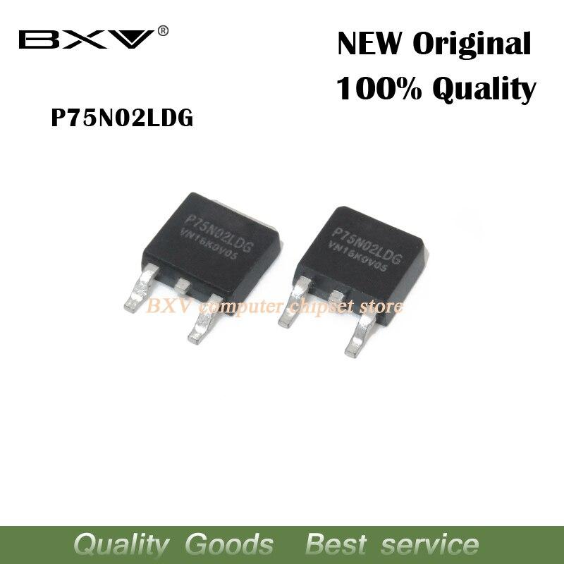 10pcs/lot P75N02LDG P75N02 TO-252