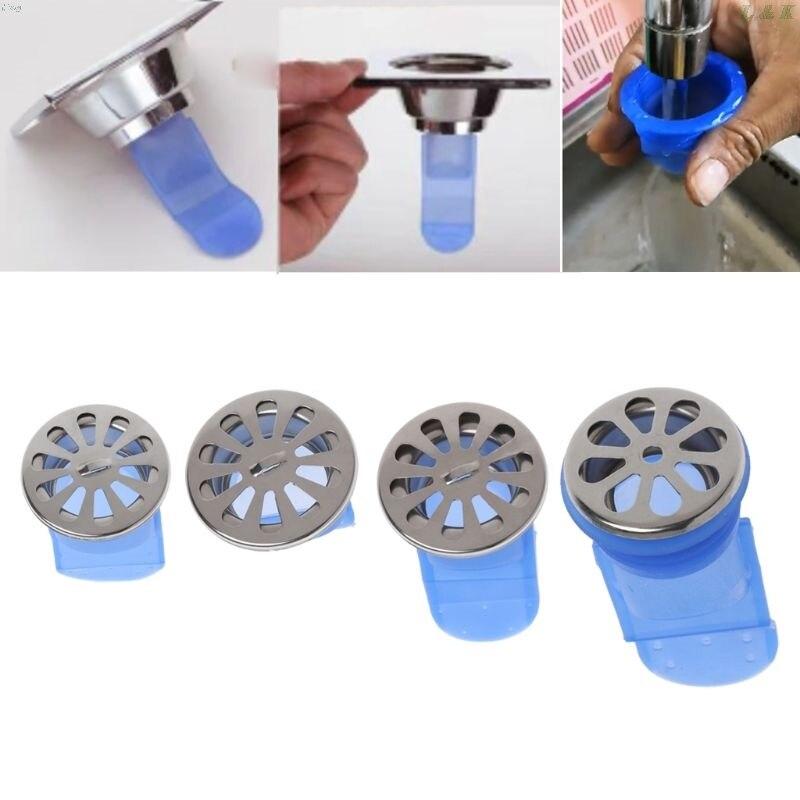 Drain Backflow Preventer One Way Valve For Pipes Tubes Bathroom Floor Drain Seal L29K