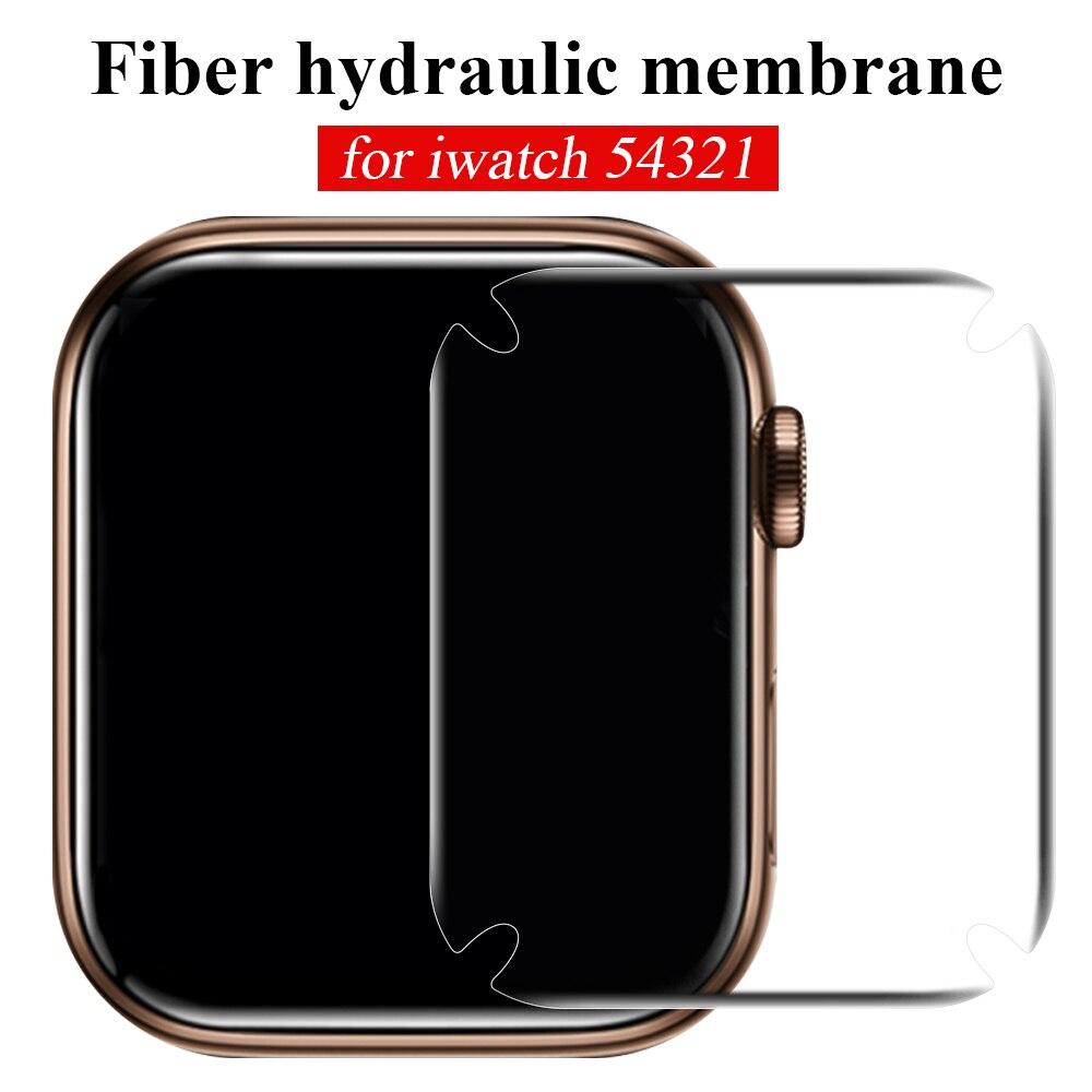 Película de hidrogel para Apple Watch 5 4 3 2 1, Protector de pantalla para iWatch de 44mm 40mm 42mm 38mm, transparente, película protectora para reloj Teléfono Móvil 4G LTE apple-iphone SE, iPhone Original libre, Dual Core, 2GB RAM, 16 GB/64GB ROM, pantalla de 12,0mp, IOS, reconocimiento de huella dactilar, Touch ID