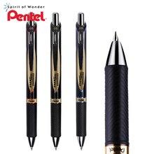 3 قطعة اليابان Pentel مقاوم للماء التجفيف السريع هلام القلم 0.5 مللي متر المعادن القلم كليب المياه القائمة القلم BLP75 الأعمال مكتب الكتابة القرطاسية