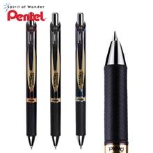 3Pcs Japan Pentel waterproof quick drying gel pen 0.5mm metal pen clip water based pen BLP75 business office writing stationery