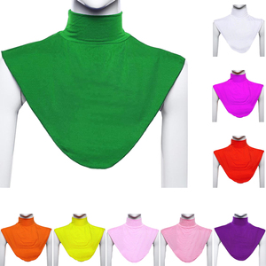 Image 1 - Moslim Islamitische Hijab Vrouwen Extensions Hals Borst Terug Cover Modale Onder Zachte Sjaal Wrap Neck Cover Hoofddeksels Sjaal Wereld Apparel