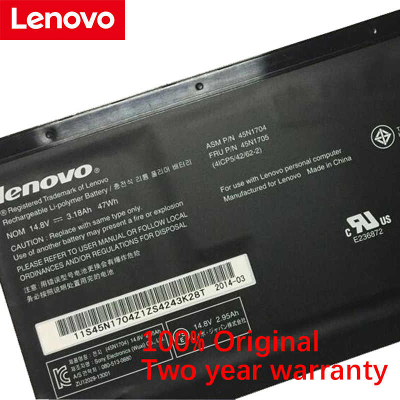 Originale LENOVO ThinkPad Yoga S1 120 S240 20CD/20C0 Yoga 12 20DL/20DK Yoga Pro 45N1705 45N1707 45N1704 45N1706 Batteria Del Computer Portatile