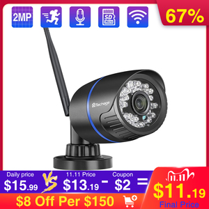 Image 1 - Techage 1080P 2MP Wireless IP Camera IR Night Vision Audio Record P2P Onvif Video Security Wifi Camera Outdoor CCTV Surveillance