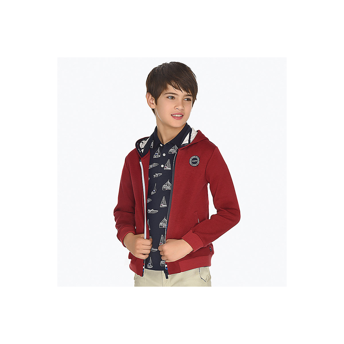 Фото - MAYORAL Hoodies & Sweatshirts 10685394 pullover jumper for boys and girls clothes children's sweatshirt Polyester Boys mayoral sweaters 10692403 pullover jumper for boys and girls jackets boys