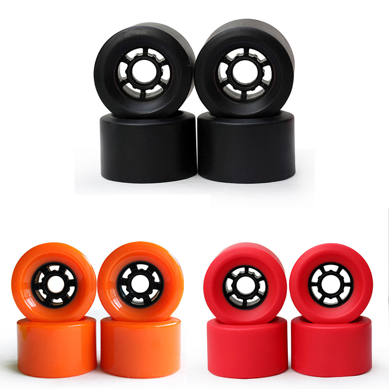4 Piece/Lot 83*52mm Professional New Electric Skateboard Wheels 82A Longboard Wheels Free Shipping