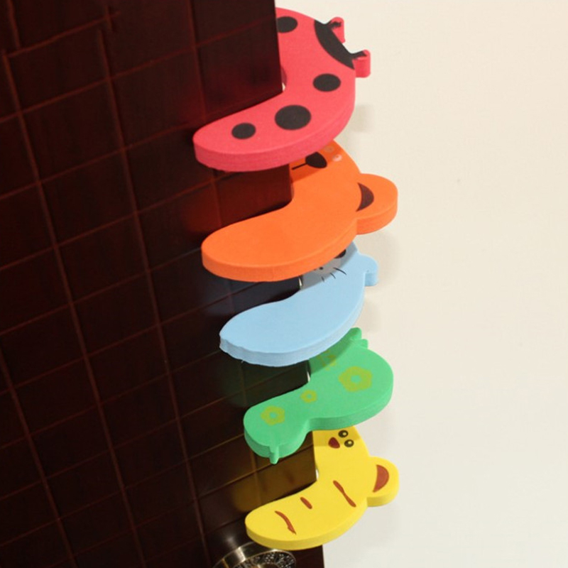 Baby Safety Protection Child Safety Cute Animal Security Card Door Stopper Baby Newborn Care Child Lock Protection Home