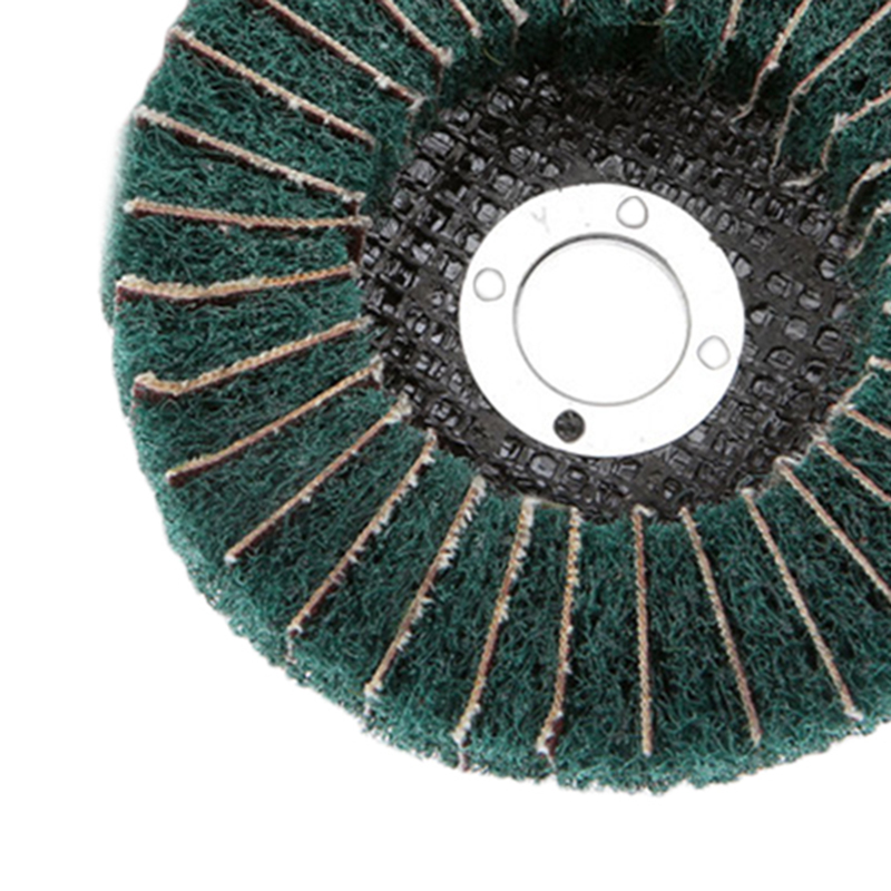 Round 100mm 180 Grit Polishing Wheel Buffing Abrasive Grinder Rotary Tool Green Furniture Metallurgy, Machinery, Light Industry