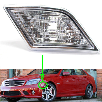 Front Bumper Light For Mercedes-Benz W204 C300 C350 2008~2011 Car Side Marker Lamp Auto Signal Lamp image