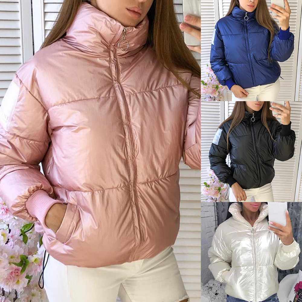 Parka Jacket Outerwears Duck Glossy-Down Warm Waterproof Femme Winter Women Loose Thick title=