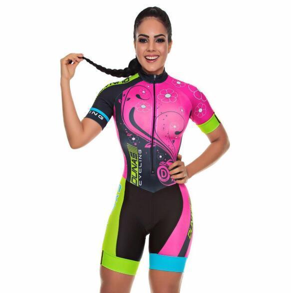 2019 pro equipe triathlon terno feminino camisa de ciclismo skinsuit macacão maillot ciclismo ropa ciclismo conjunto rosa almofada gel 3