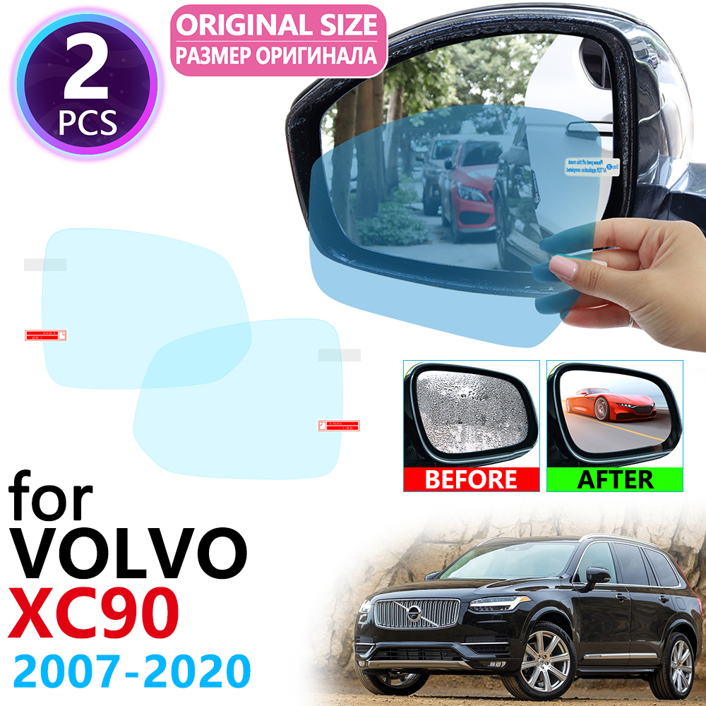 for <font><b>VOLVO</b></font> <font><b>XC90</b></font> 2007~2019 Full Cover Rearview Mirror Rainproof Fog Anti Fog Film <font><b>Accessories</b></font> 2008 2009 2011 2015 <font><b>2016</b></font> 2017 2018 image