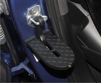 Pedal auxiliar de coche SUV en la puerta del gancho auxiliar del pedal del techo en el techo conveniente pedal plegable artículos creativos