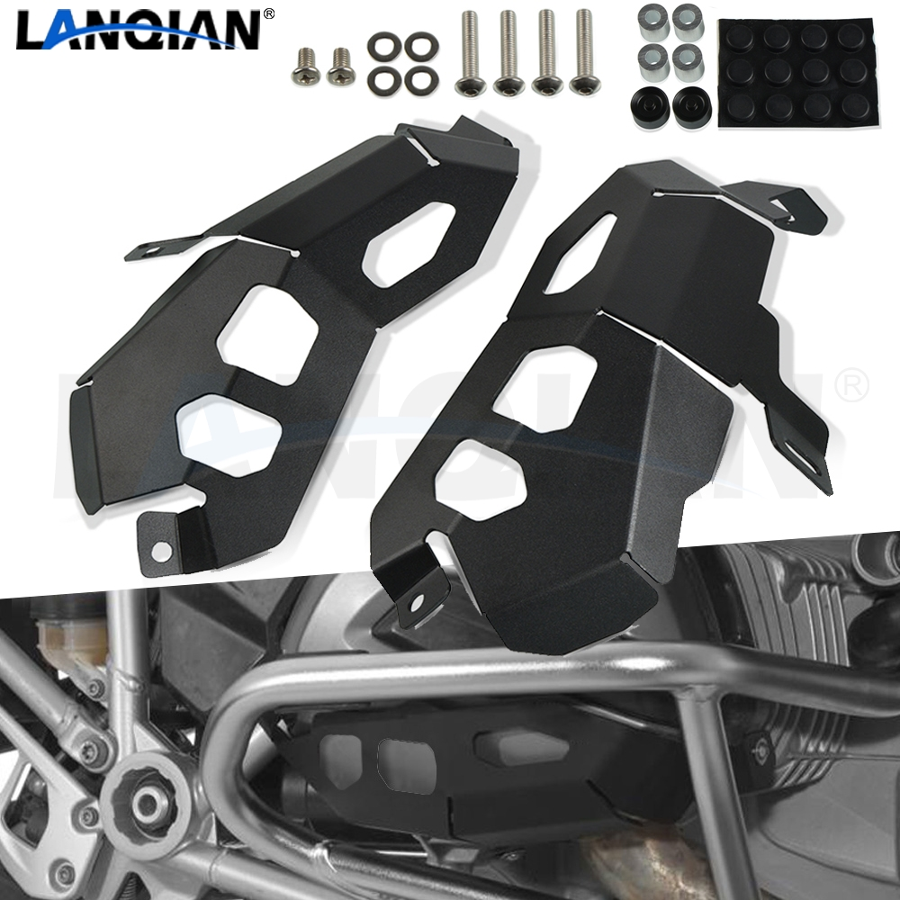 Motorcycle Engine <font><b>Cylinder</b></font> <font><b>Head</b></font> Guards Protector Cover For <font><b>BMW</b></font> <font><b>R1200GS</b></font> 2013 UP R1200RT 2014 UP R1200R 2015 UP R1200RS image