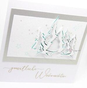 Image 5 - 貯金箱金属切削ダイスカット金型クリスマスツリー装飾スクラップブック紙クラフトナイフ金型ブレードパンチステンシルダイ