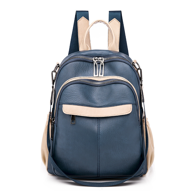 2020 NEW Women's Backpack PU Leather Fashion Outdoor Shoulder Bag Waterproof Korean Style Travel Backpack