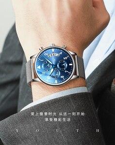 Image 2 - Youpin TIMEROLLS multi functional leisure Quartz Watch stopwatch waterproof luminous cool multi eye watch Business Watch