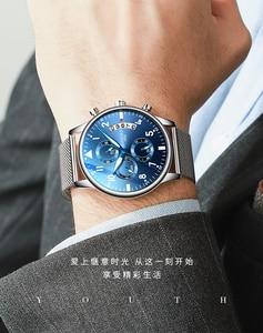 Image 2 - Youpin timerolls multi funcional lazer relógio de quartzo cronômetro à prova dwaterproof água luminosa fresco multi olho relógio de negócios