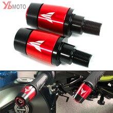 새로운 오토바이 핸들 바 그립 플러그 슬라이더 핸들 바 끝 YAMAHA MT 07 MT07 MT09 MT10 MT 07 09 10 TRACER 900 GT
