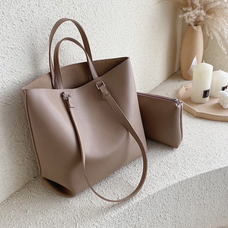 Fashion Style Leather Women Handbags Chain Large Size Black Travel Crossbody Shoulder Bags Vintage Shopping Bags Drop Shipping
