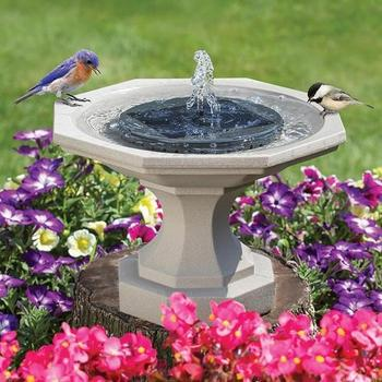 Solar Powered Submersible Or Floating Koi Pond Water Fountain  15