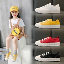 Buy Fashion Children Canvas Shoes Breathable Boys Sneakers Kids Shoes for Boys Girls Jeans Casual Child Flat Canvas Shoes directly from merchant!